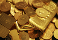 Gold Coins Bars Austrailia big pile