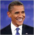 Obama large smile