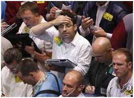 Traders exasperation